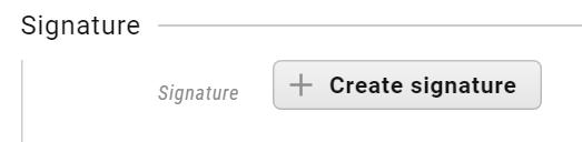 create-signature